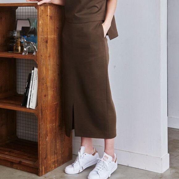 【her EUCLAID】フィットタイトスカート