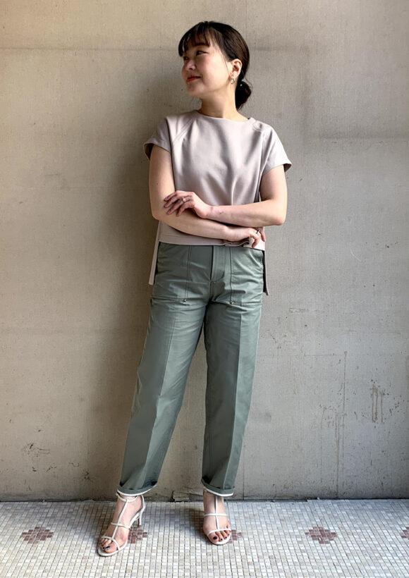 【her EUCLAID】ラグランスリーブプルオーバー